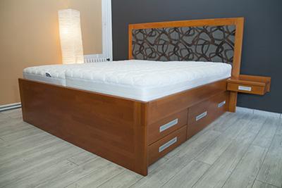 Královskou postel Roma si již nyní můžete přijít prohlédnout ...