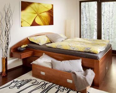postel z masívu